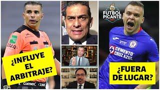 El ARBITRAJE del CRUZ AZUL vs SANTOS. POLÉMICA en GOL del Cabecita Rodríguez. | Futbol Picante