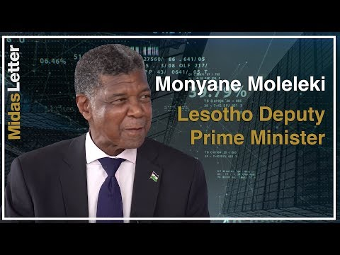 Honourable Deputy Prime Minister of Lesotho on Cannabis Making the Nation Famous & Respectable