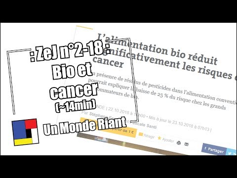 Zététique et journalisme - #2-18 - Bio et cancer