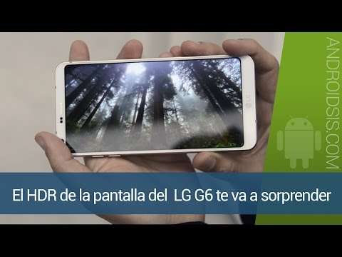 Pantalla LG G6 VS Pantalla Iphone 7 Plus