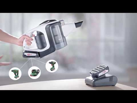 Bosch Unlimited – The cordless vacuum cleaner with unlimited runtime
