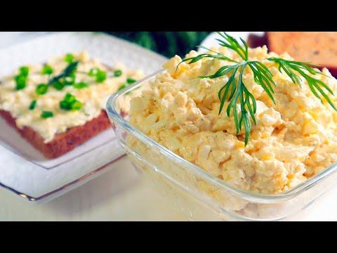 Две СУПЕР Закуски за пять минут!Еврейская паста + Закуска «Мимоза»/Дёшево Сердито