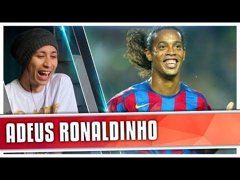connectYoutube - REACT ADEUS R10 - Ronaldinho se despede do Futebol... (iFutGol)