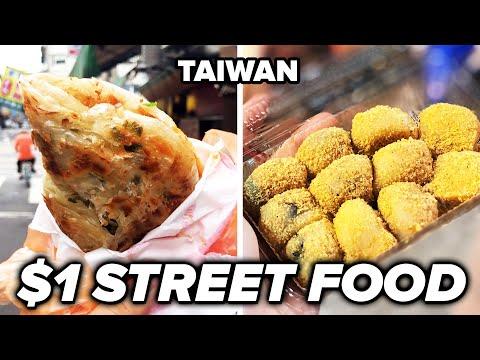$1 Street Food In Taiwan