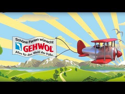 GEHWOL Sommeraktion Urlaubs-Flieger