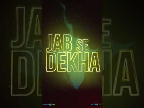 #JabSeDekha - Adhyayan Summan ft. Giri G   Mallaikaa   Music Video Out Tomorrow