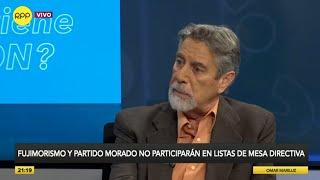 Entrevista a Wilfredo Pedraza, abogado de Nadine Heredia.