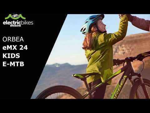 Orbea eMX 24 Kids eMTB First Ride   Electric Bikes Brisbane