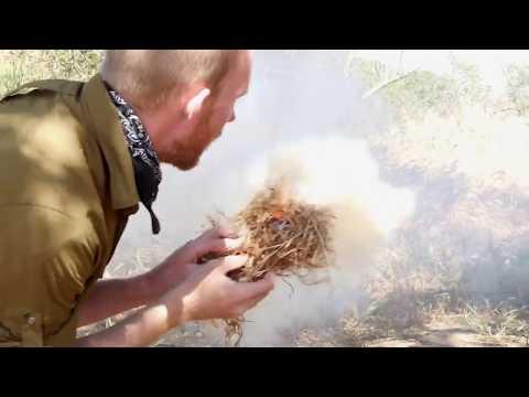 California Survival School: Friction Fire Part 2 Technique