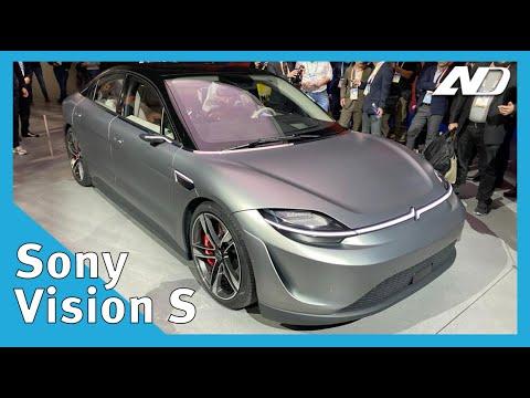 Sony hizo un auto y se ve bastante bien - #CES2020