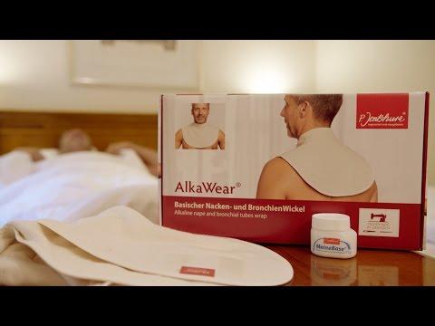 P. Jentschura Neuheit: Der basische Nacken- und BronchienWickel