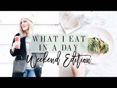 What I Eat In a Day: Weekend Edition | I Covet Thee
