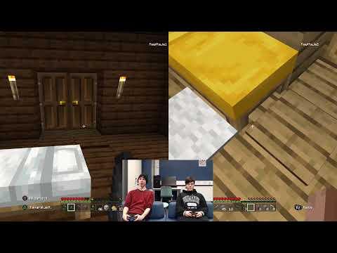 Nuortenkoski esittää: Minecraftia! (feat Pessi ja Iina)