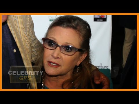 Carrie Fisher had cocaine and ecstasy in her system - Hollywood TV