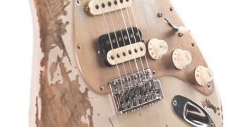 Luxxtone Choppa S Destroyed Mary Kaye HSS Electric #0194 Quick n' Dirty