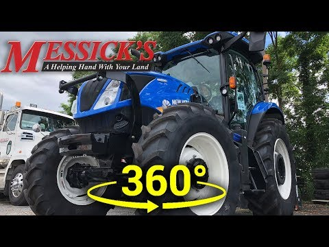 *ALL NEW* New Holland T6.165 - DYNAMIC COMMAND  (360 VIDEO) Picture