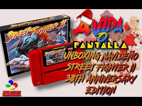 Unboxing Navideño - Street Fighter II 30th Anniversary edition - SNES - [AVOP]