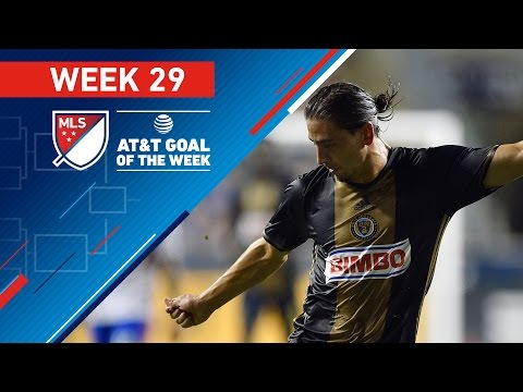 AT&T Goal of the Week | Vote for the Top 8 MLS Goals (Wk 29)