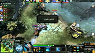 Na'Vi vs Xgame Game 1 Part 1 - ESL One New York EU Qualifier @TobiWanDOTA
