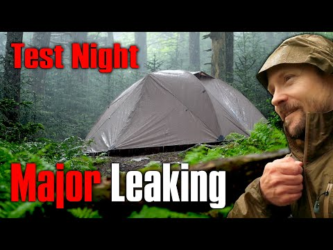 This Tent is a Nightmare - OneTigris Cosmitto Tent - Test Night