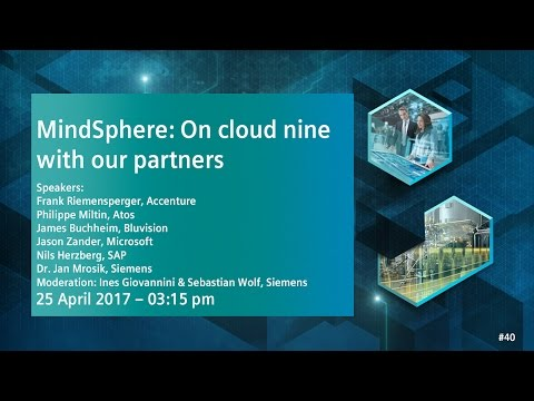 On Cloud 9 with our partners | 25 April 2017 - 3:15 pm