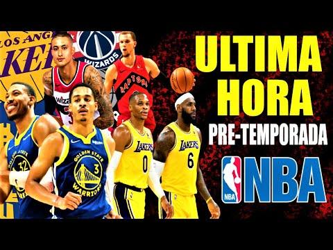 Warriors ESPECTACULARES  Lakers PREOCUPAN  Westbrook  Poole  Kuzma  Raptors MUY SOLIDOS  NBA