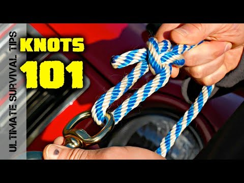 3 WAYS to TIE the MOST USEFUL KNOT in the WORLD - Bowline