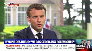 Euro: Emmanuel Macron accorde une interview exceptionnelle à RMC et BFMTV