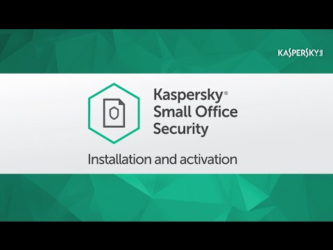 How to install and activate Kaspersky Small Office Security 5