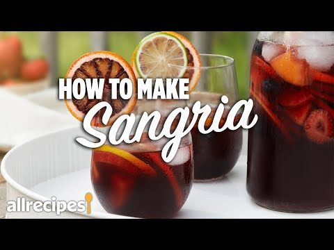 How to Make Sangria   You Can Cook That   Allrecipes.com
