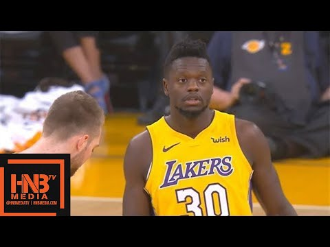 connectYoutube - Los Angeles Lakers vs Indiana Pacers 1st Qtr Highlights / Jan 19 / 2017-18 NBA Season