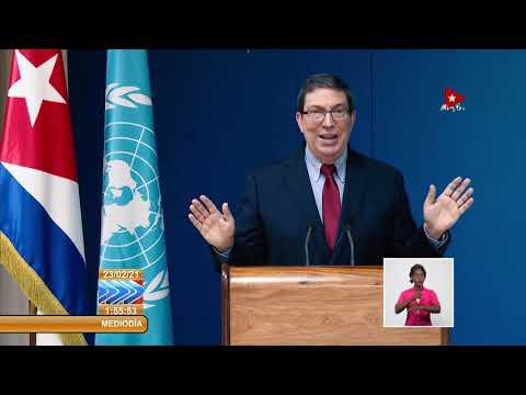 Ministro de Relaciones Exteriores de Cuba en el 46 Período de Sesiones del Consejo de DD.HH.
