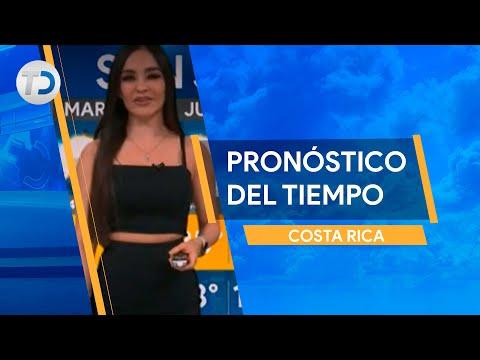 Pronóstico del tiempo Costa Rica 11 de octubre