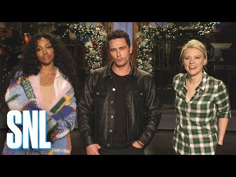connectYoutube - James Franco and Kate McKinnon Get Beaten by SZA - SNL