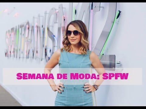 Semana de Moda: São Paulo Fashion Week