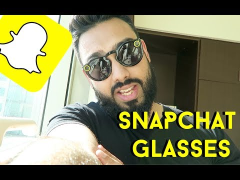 TRYING THE SNAPCHAT GLASSES !!!