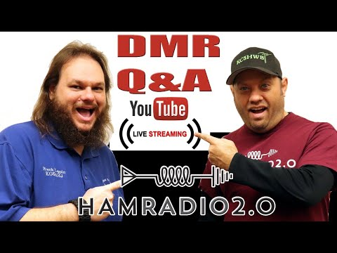Ham Radio Online Testing - DMR Codeplug Q&A