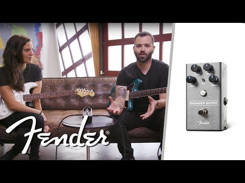 The Engager Boost   Effects Pedals   Fender