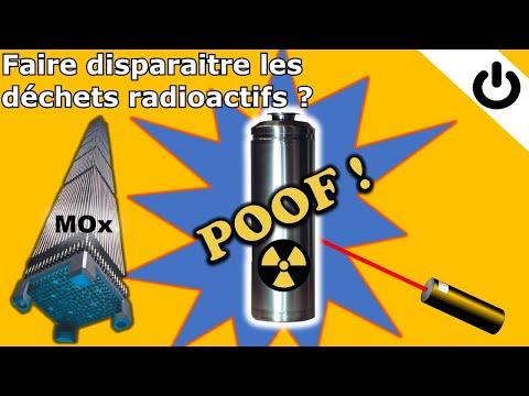 ⚡☢️🗑️ Peut-on faire disparaître les déchets radioactifs ? - DÉCHETS RADIOACTIFS #2