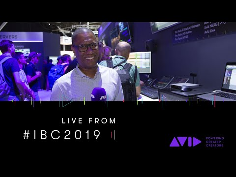 #AVID #IBC2019 LIVE ⏩ Greg Chin shows us what's new in Pro Tools 2019