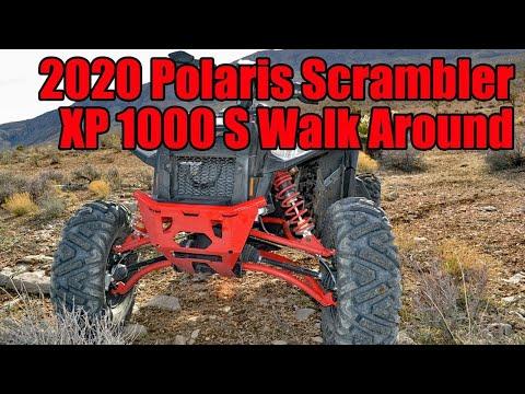 55-Inch Polaris Scrambler XP 1000 S Walk Around