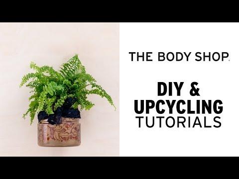 Självvattnande kruka - The Body Shop