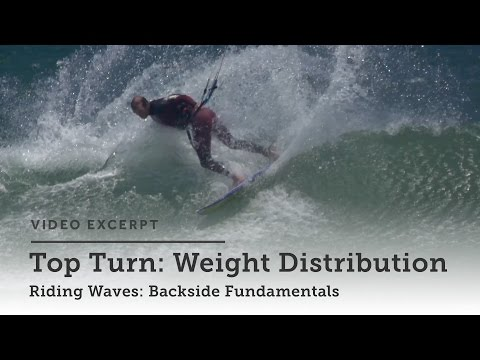 Riding Waves: Backside  - Kitesurfing Technique & Tips