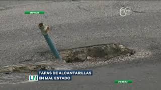 Denuncian el mal estado de alcantarillas en el centro sur de Guayaquil