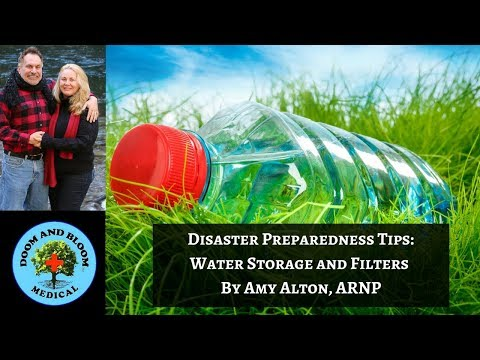 Disaster Preparedness Tips: Water Storage and Filters