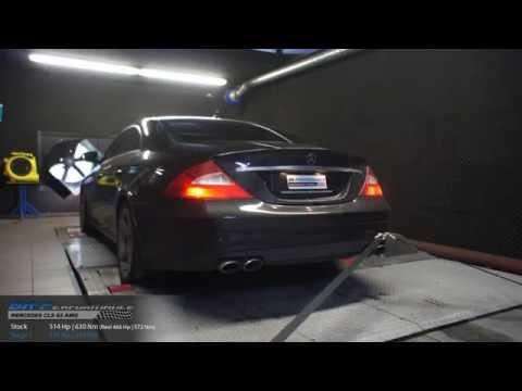 Reprogrammation Moteur Mercedes CLS 63 AMG 514hp (Réel: 466hp) @ 504hp par BR-Performance