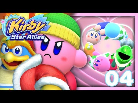 connectYoutube - LE CERCLE DES AMIS ! | KIRBY STAR ALLIES EPISODE 4 CO-OP NINTENDO SWITCH FR