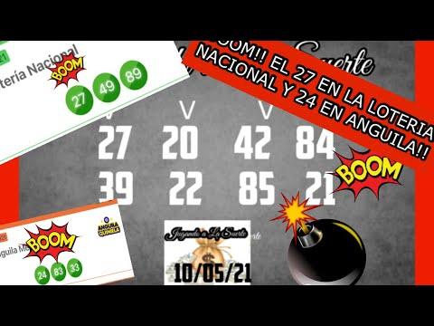 BOOM!! EL 27 EN LA LOTERIA NACIONAL Y EL 24 EN ANGUILA!!