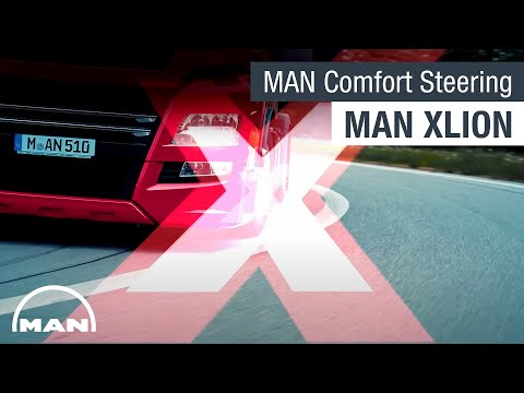 MAN XLION I MAN ComfortSteering & MAN Lane Return Assist