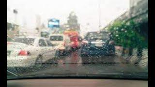 Lluvia afecta visibilidad de conductores en la calzada San Juan